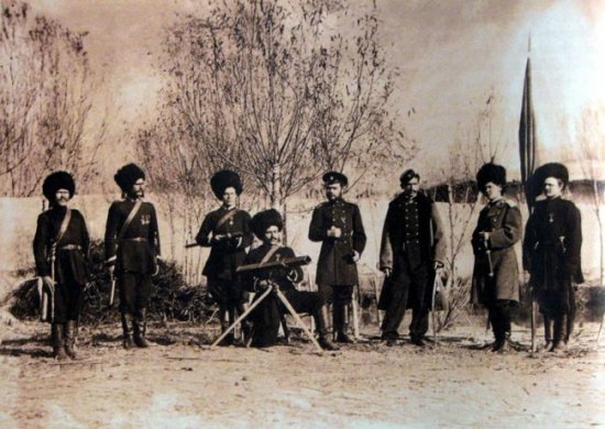 Ракетный взвод Семиреченского казачьего войска, 90-е годы XIX века